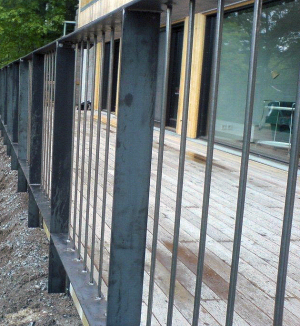 smidesracke, grindar och staket i Uppsala